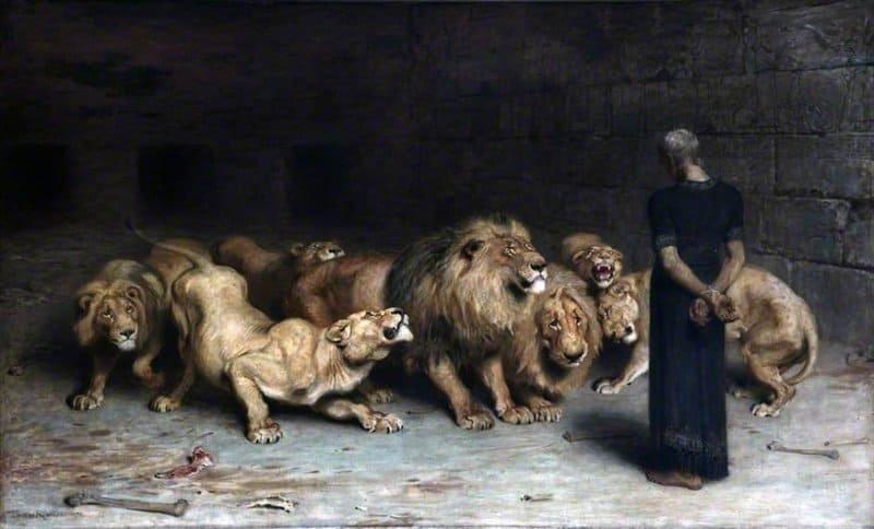 Die Bybel stel Daniël bekend as 'n groot geloofsman, nederig en afhanklik van God (Eségiël 14:14; Daniël 9:20; 10:11).