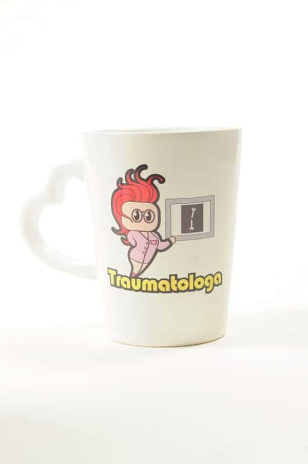 Taza Cerámica Traumatologa