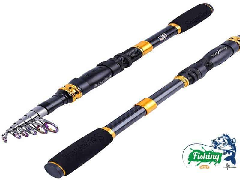 Sougayilang Carbon Fiber Fishing Rod