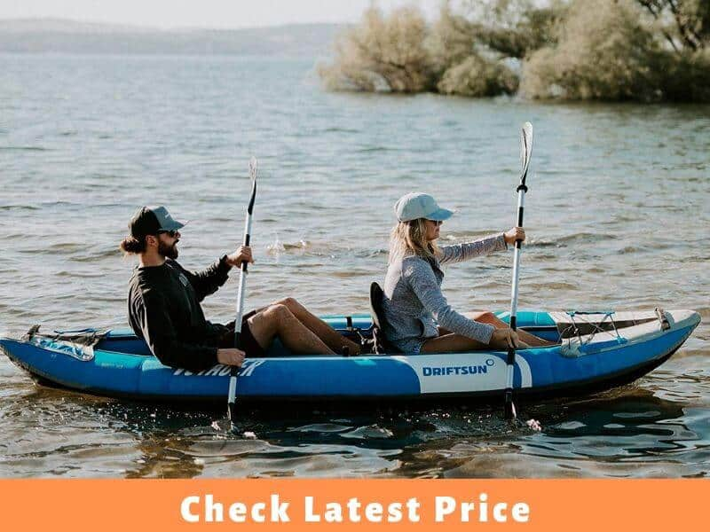 THE DRIFTSUN VOYAGER TANDEM INFLATABLE KAYAK