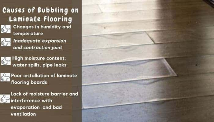 How To Fix Bubbles On Laminate Flooring Floor Techie