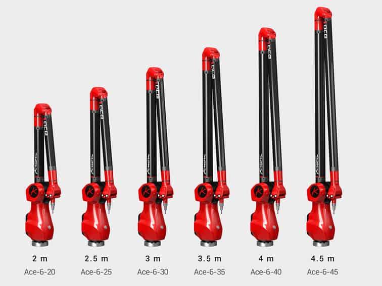 Ace Arm size