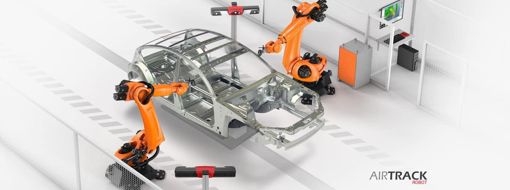 AirTrack robot scheme