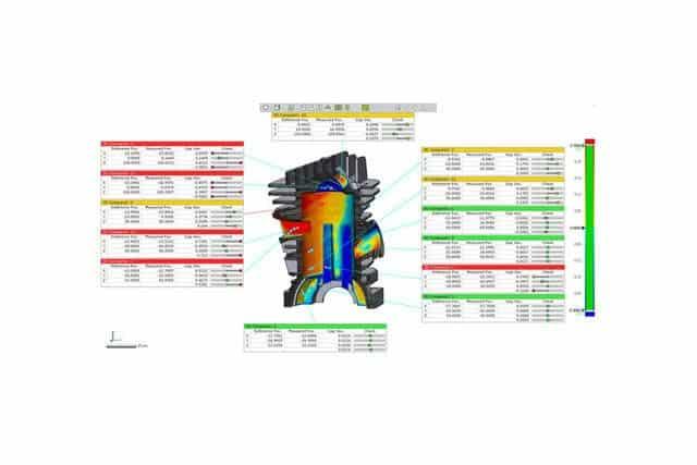 Geomagic Control X varied custom reports web