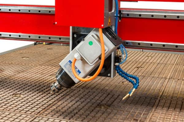 CNC Router with swivel head