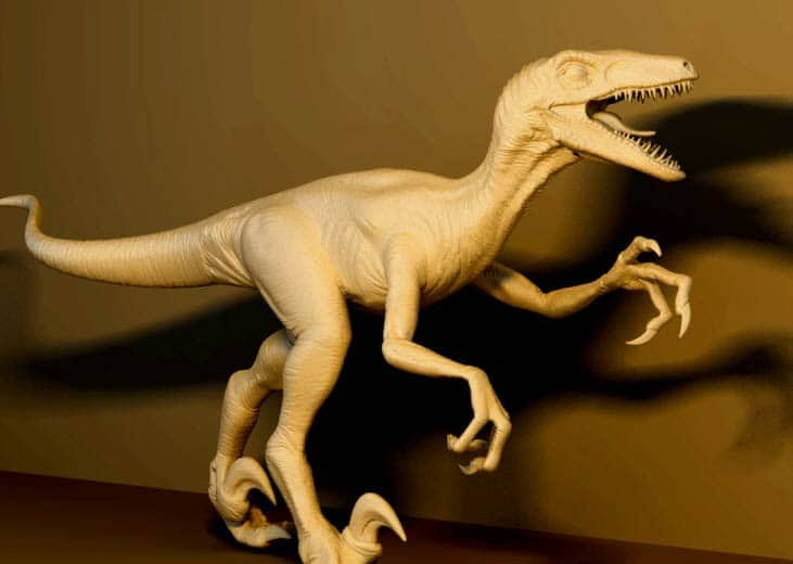 geomagic freeform dinosaur