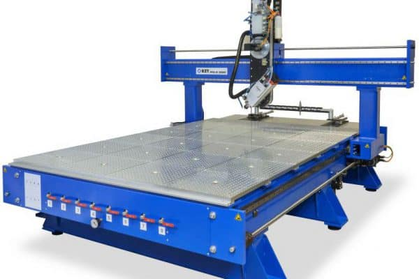 Large flat bed cnc router