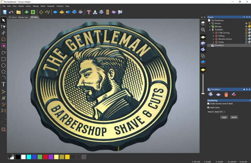 The gentleman carveco maker