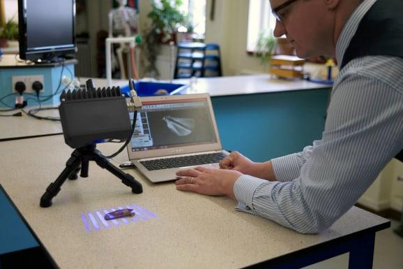 3d desktop scanning