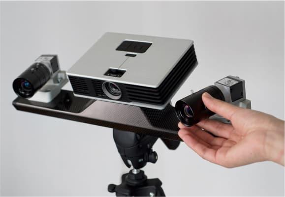 flexible structured light 3d scanner
