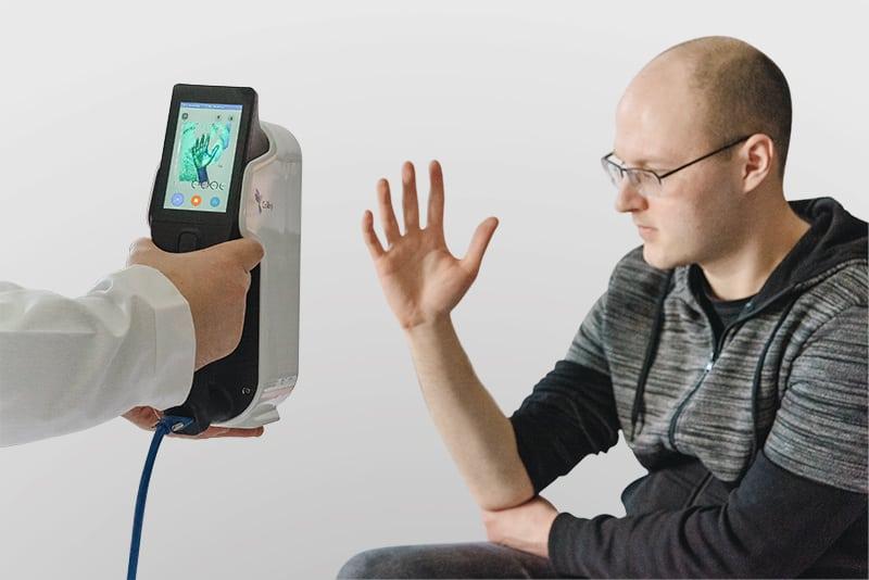 3d scanning hand