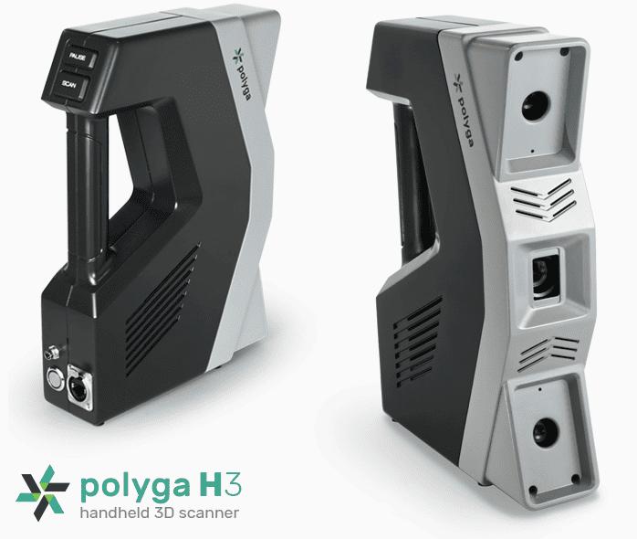 H3 Handheld 3d scanner