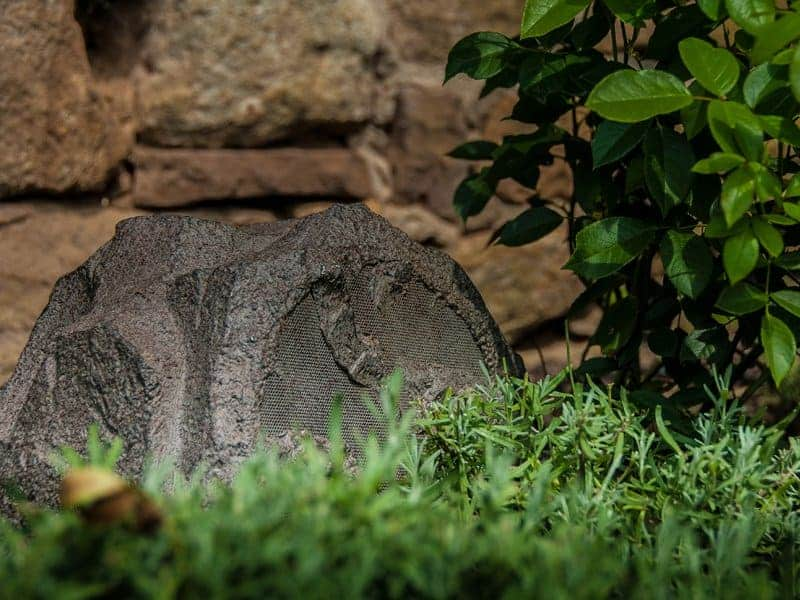 Gartenlautsprecher Stein