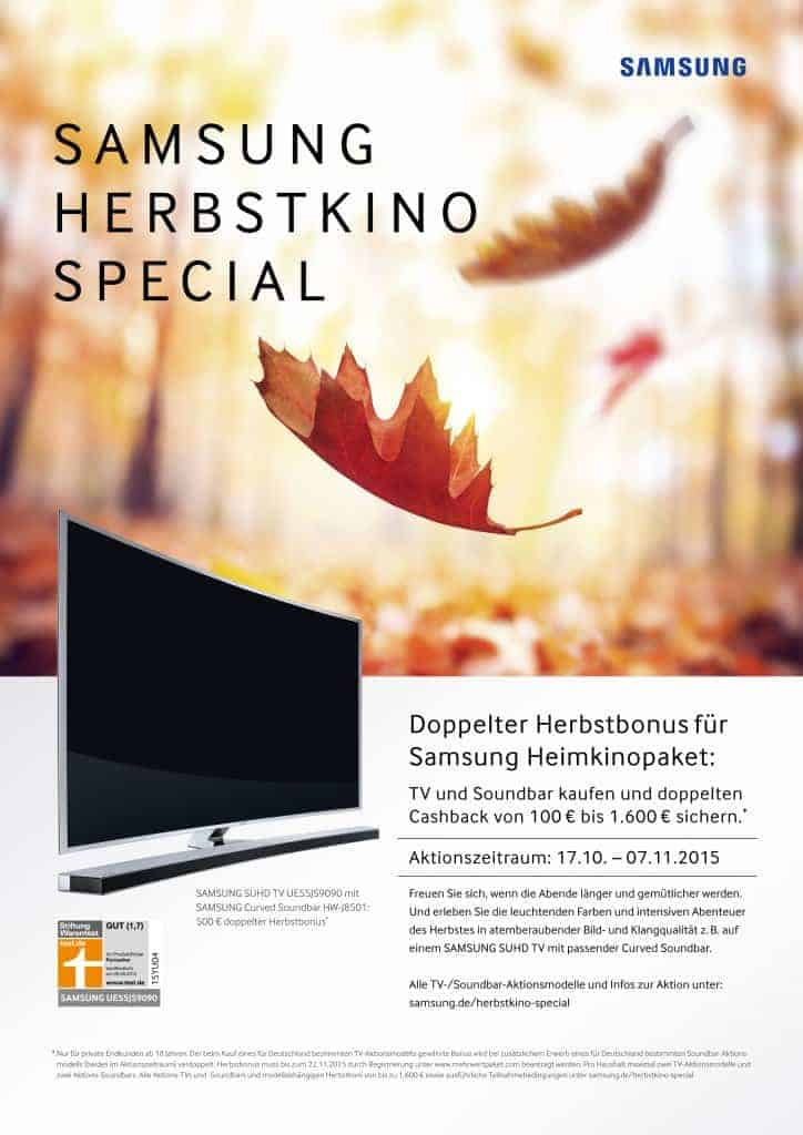 Samsung Herbstkino Special