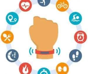 Using a Fitness Tracker as a Smart Watch - wear on wrist