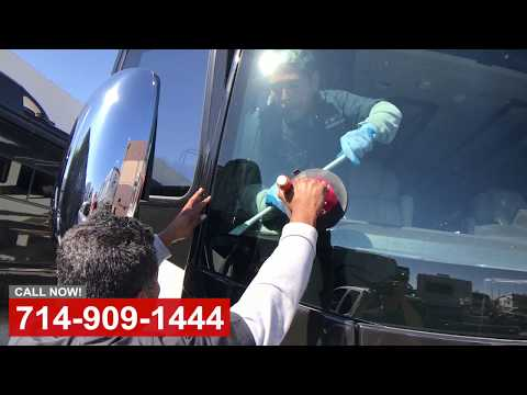 RV Windshield Replace in Orange County CA