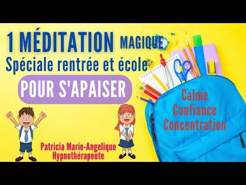 Méditation pour ENFANT spéciale RENTRÉE pour S'ENDORMIR - Histoire de Camille et le papillon