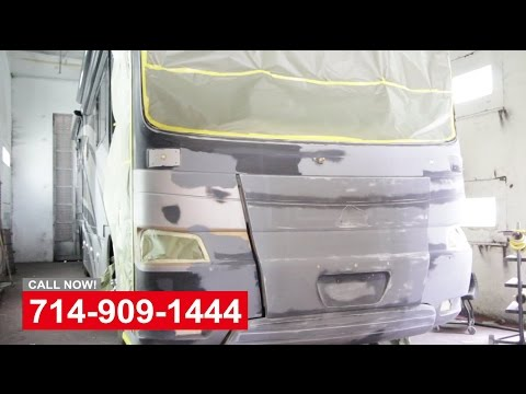 RV Repair Paint Shop In Orange County California