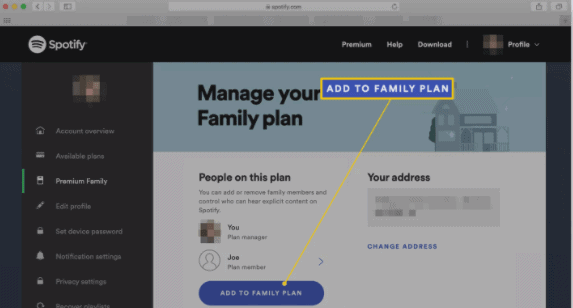 how-to-set-parental-control-on-spotify-family-click-add-to-family-plan