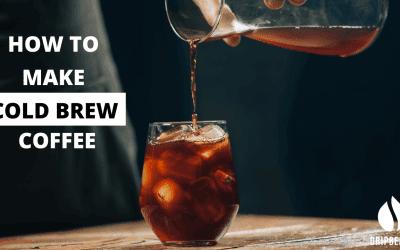 How do you make cold brew coffee?