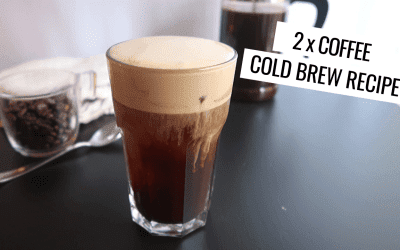 Cold Brew Topped with Coffee Infused Cold Foam
