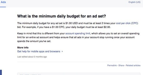 Run e-commerce ads on facebook with a very low budget.
