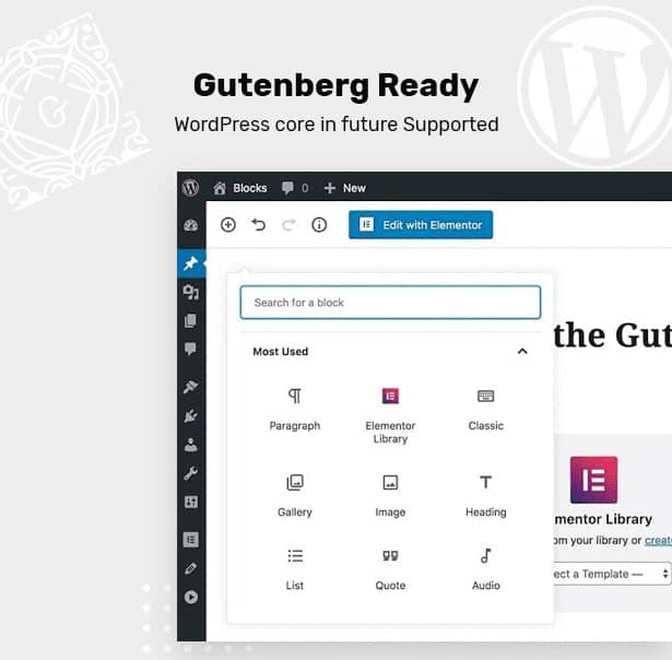 Clenix - Cleaning Services WordPress Theme gutenberg