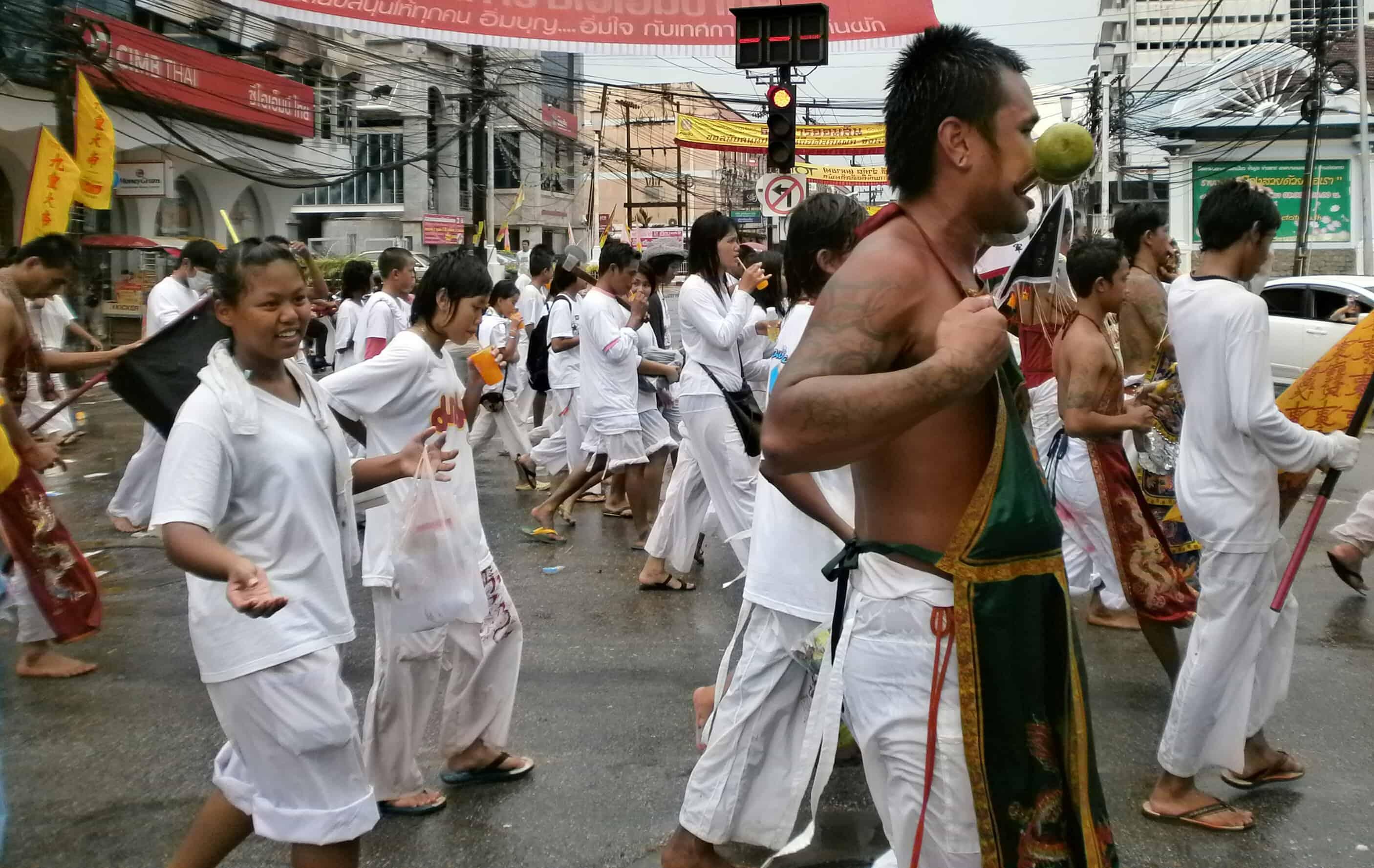 Tailandia Phuket Festival vegetariano - Festival vegetariano de Phuket: todo lo que tienes que saber