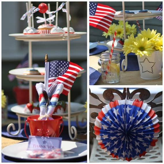 If you are planning a 4th of July celebration, but stuck for where to start, then this will help those party ideas to freely flow.  With ideas for party food and decorations, there is something for the adults and for the kids.  Organize your celebration with ease and then enjoy the day.  Everyone needs to make the dessert trifle in party #1!