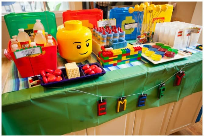 Bright Lego party