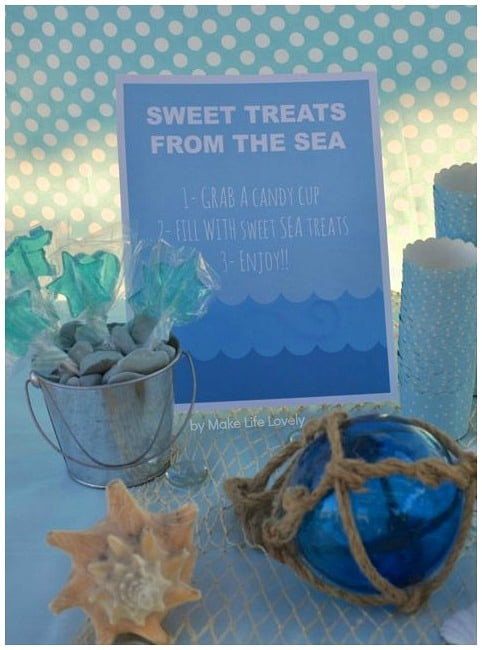 Looking for an enchanting birthday party theme? An uder the sea birthday party is stunning in so many ways. It can be tailored to boys or girls, and still have a magical feel. Undertake some DIY decorations, organize some under the sea themed food and this is a party that will delight the young and the old.