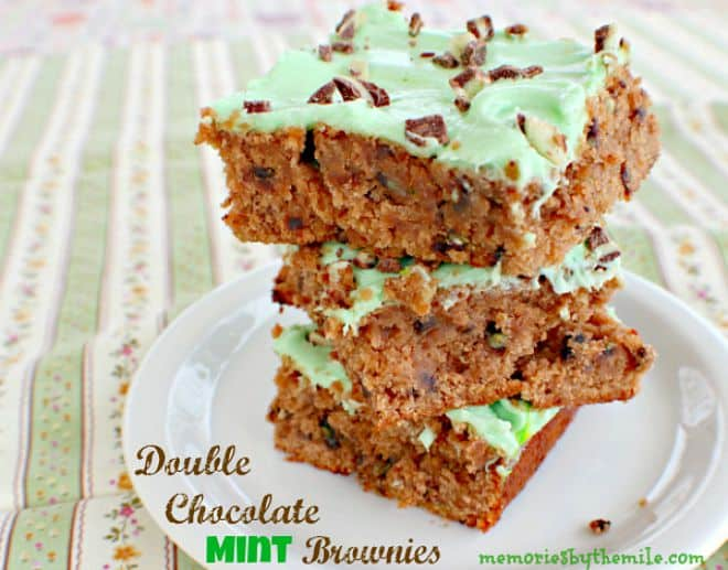 Double-Chocolate-Mint-Brownies-Memories-by-the-Mile