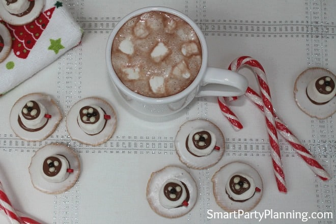 Marshmallow Tea Cups