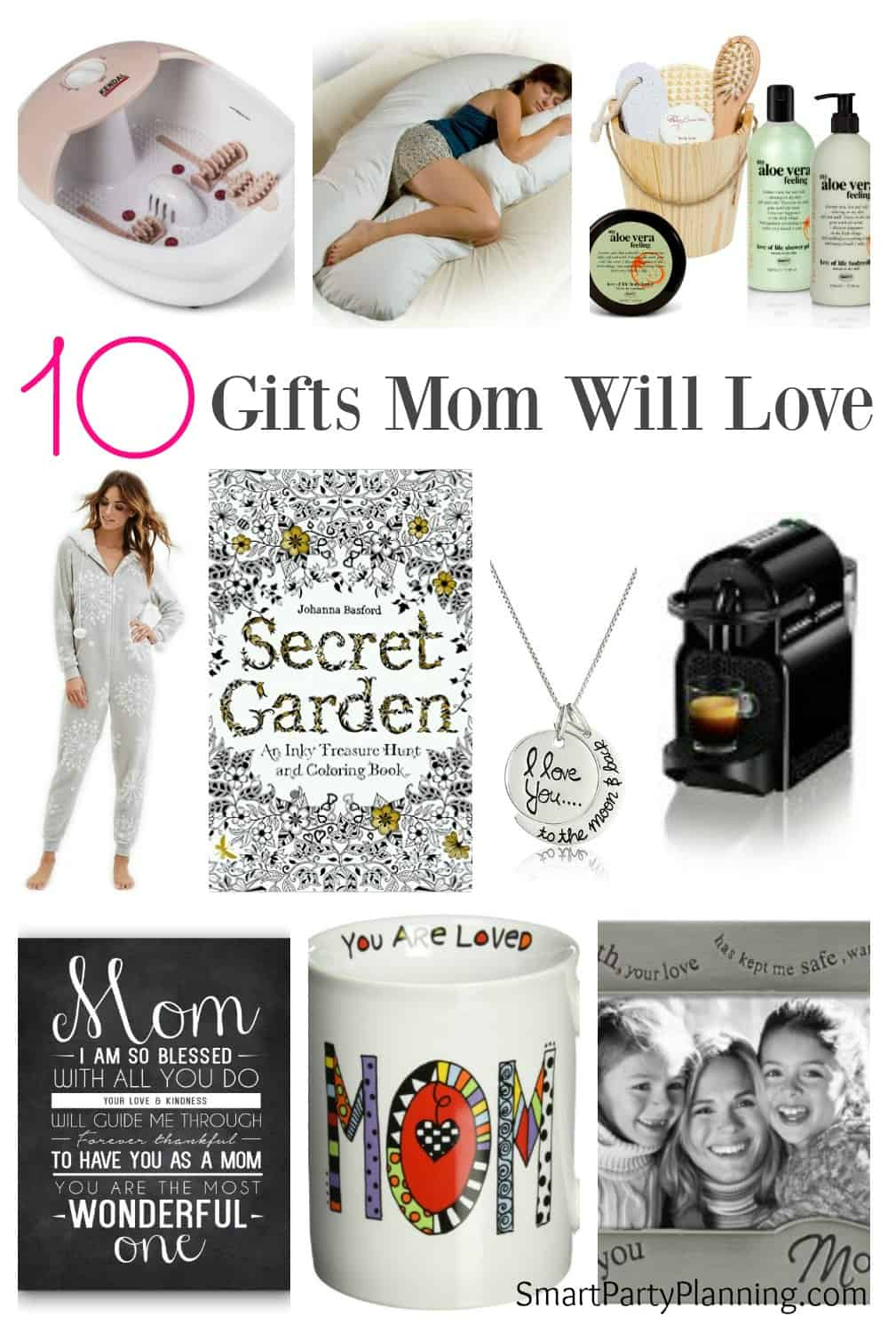 Are you looking for a gift for mom for mother's day or her birthday? Giving gifts mom will love could be easier than you think. Perhaps some subtle hints need to be left around the house for gifts for yourself? Print out and circle the items you like, and leave somewhere convenient in the home for all to see. Organizing a gift could be easier than you think.
