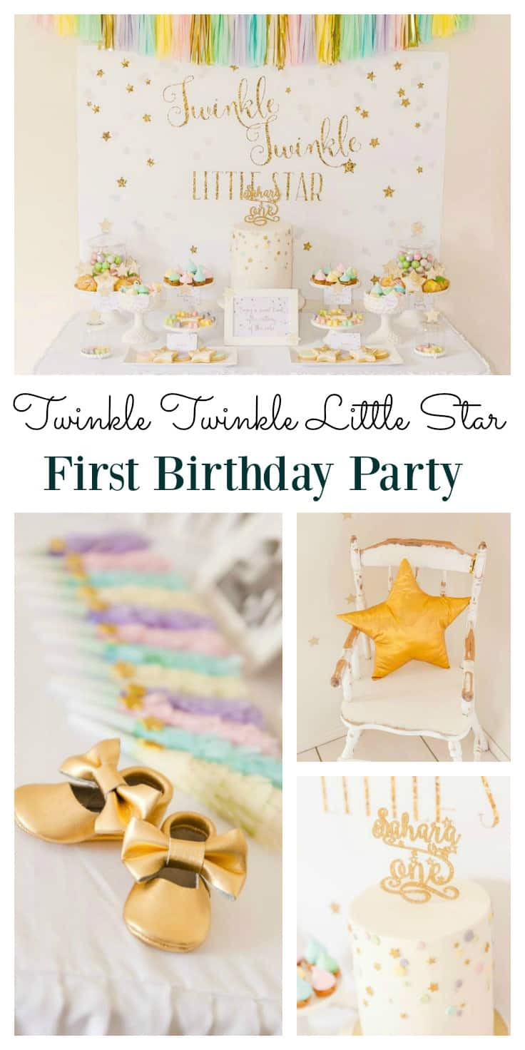 Twinkle Twinkle Little Star Birthday Party
