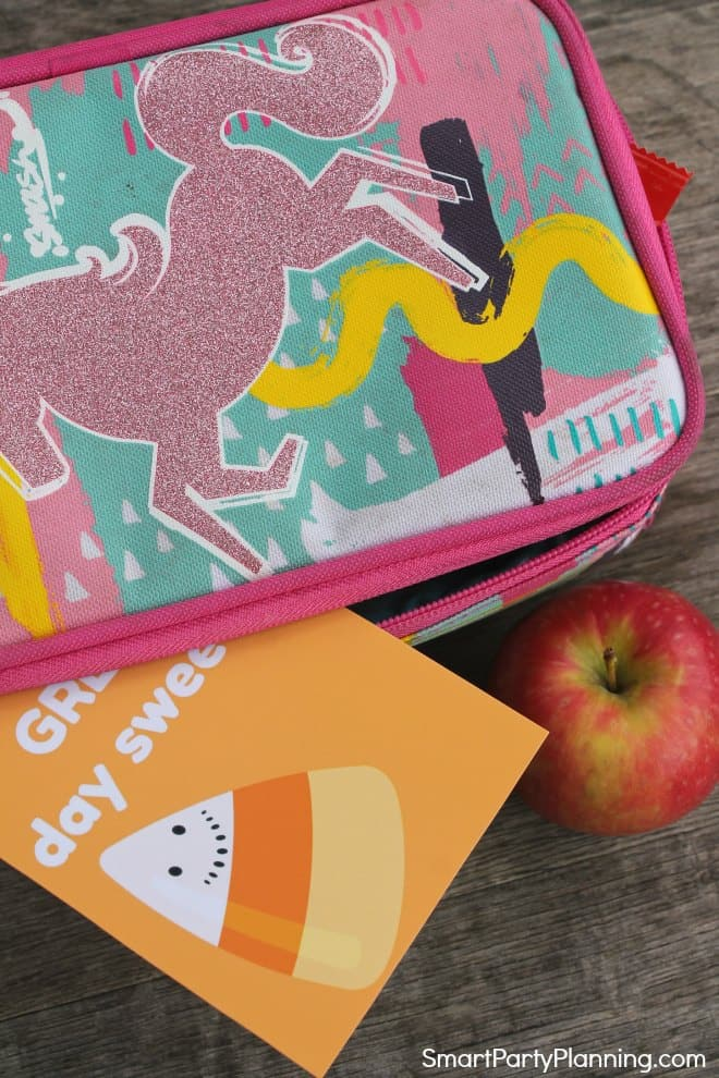 Great Day Halloween Lunch Box Note