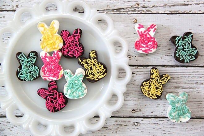 Chocolate bunny candies