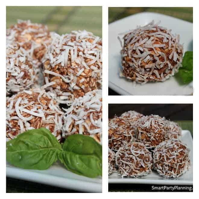 Healthy Chocolate Coconut Balls Recipe