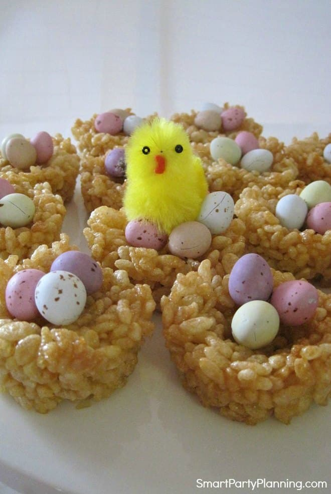 Honey Joys with an Easter chicken