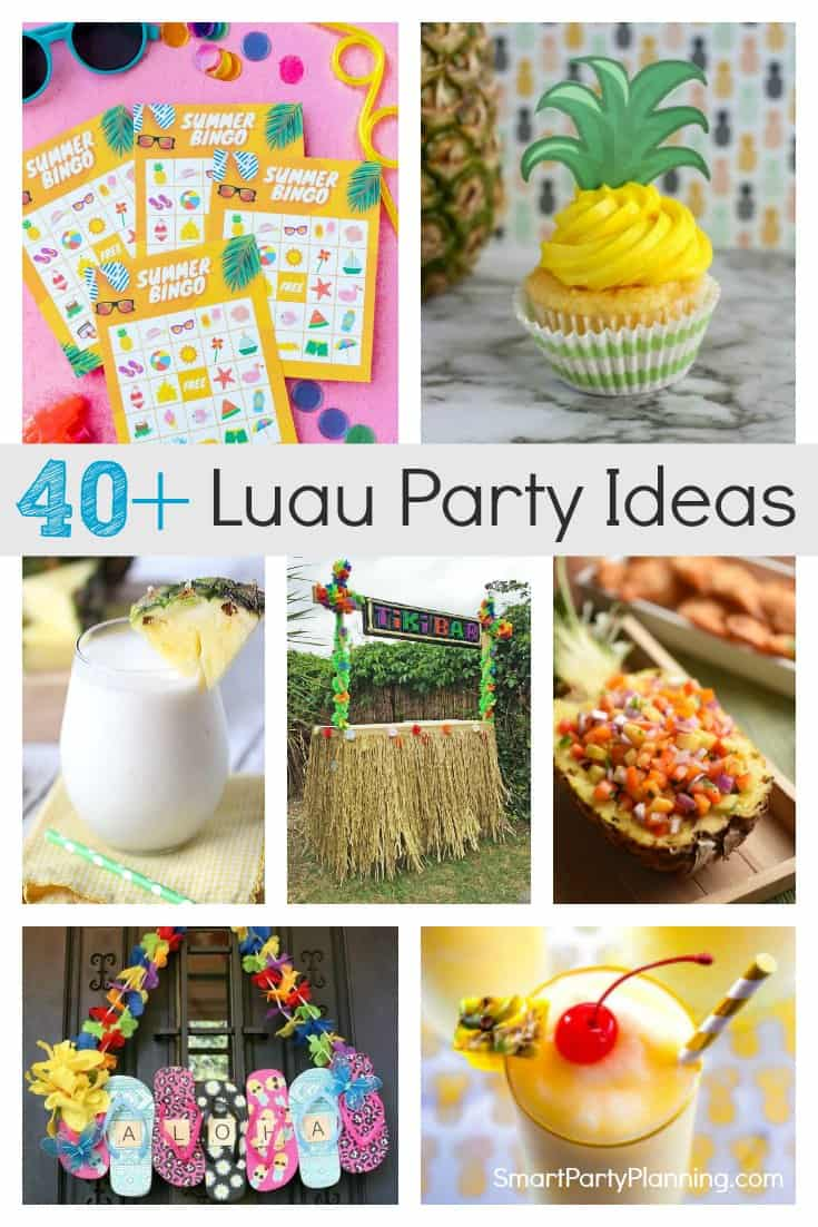Luau Party Ideas