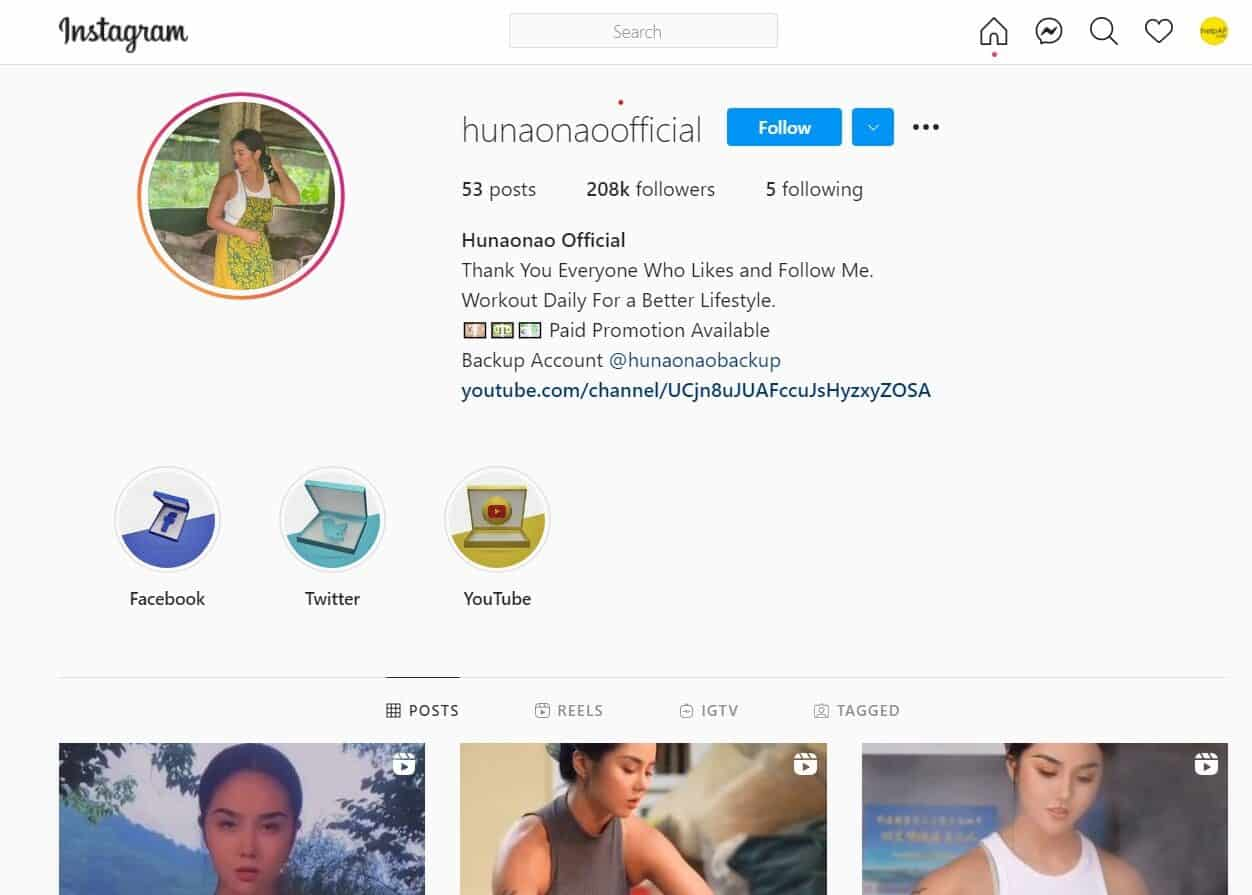Viral girl on the instagram reels