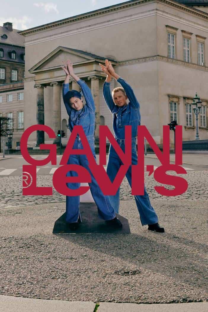 Ganni x Levi's