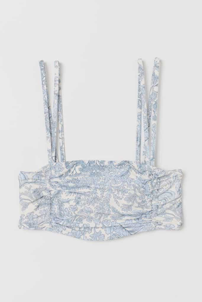 Padded Bandeau Bikini Top, £12.99, H&M - buy now (available up to size 18)