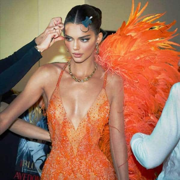 kendall jenner at the Met Gala