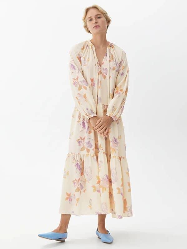 Floral Tier Dress
