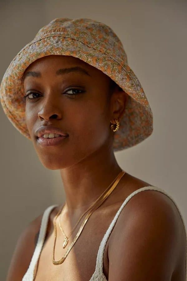 Urban Outfitters Ditsy Floral Bucket Hat