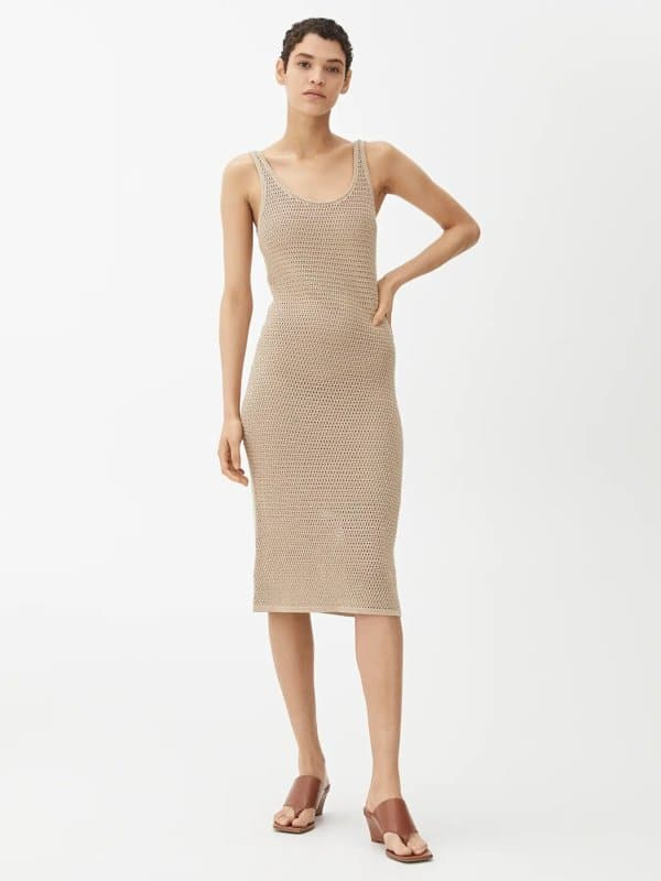Arket Crochet Strap Dress