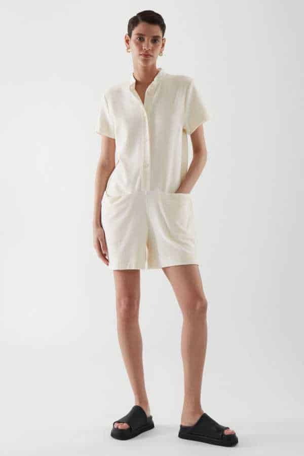 Terry Towelling Playsuit
