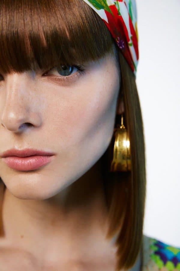 Zara Textured Hoop Earrings