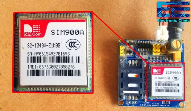 GSM Sim900A
